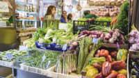 verschiedene Gemüse in einem Laden