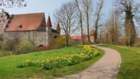 Ein Schloss in Dinkelbühl