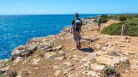 Wanderer auf Menorca