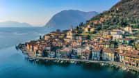 Drohnenansicht von Monte Isola