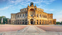 Die Semper Oper in Dresden