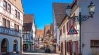 Fachwerkhäuser in Dornstetten