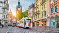 Straßenbahn in Freiburg