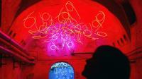 Lichtkunst im Museum in Unna