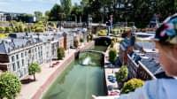 Der Miniaturpark Madurodam im Stadtteil Scheveningen von Den Haag