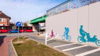 Die Veloroute 10 in Kiel ist ein Radschnellweg in Deutschland