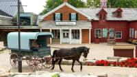 Kutsche mit Pferd im Upper Canada Village