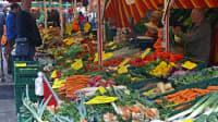 Erzeugermarkt in Frankfurt am Main