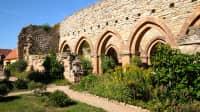 Außenaufname des Kloster Memleben