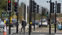 Kreuzung mit 42 Ampeln in Beverley
