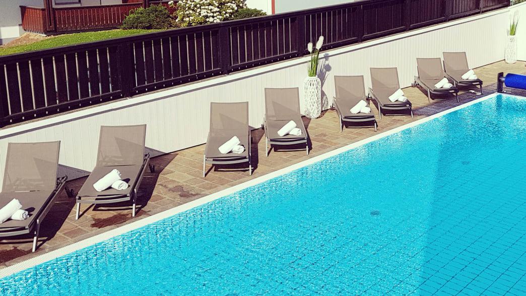 Ihr Hotel Das Aunhamer in Bad Griesbach - Außenpool