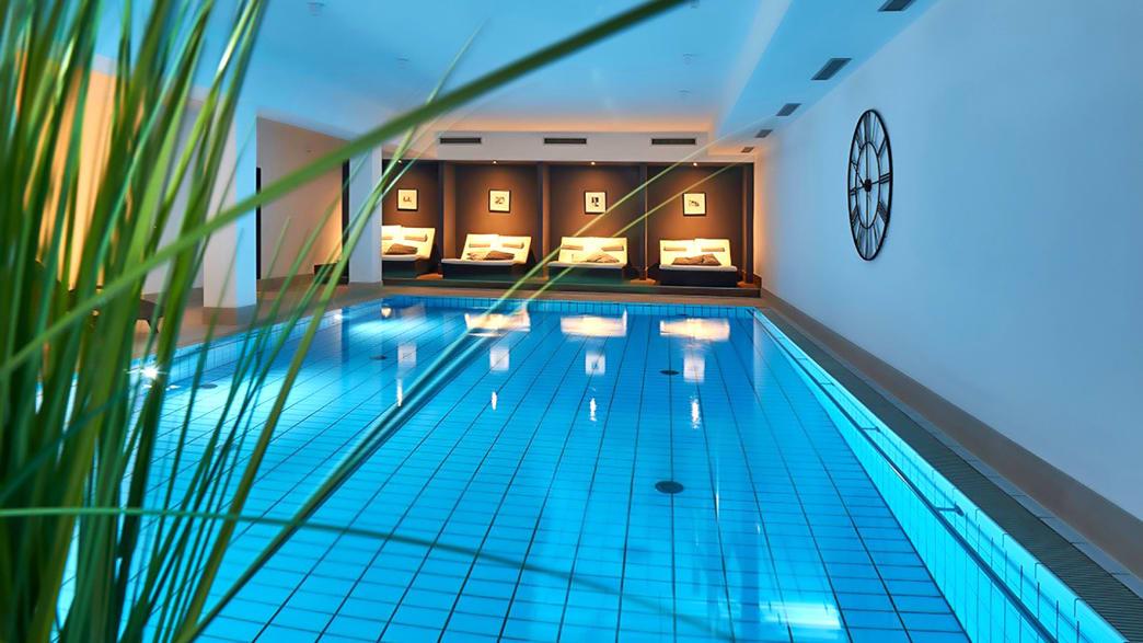 Ihr Hotel Das Aunhamer in Bad Griesbach - Innenpool