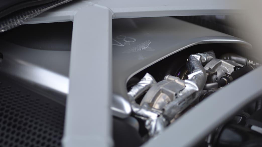 Motor des Aston Martin DB11 Volante