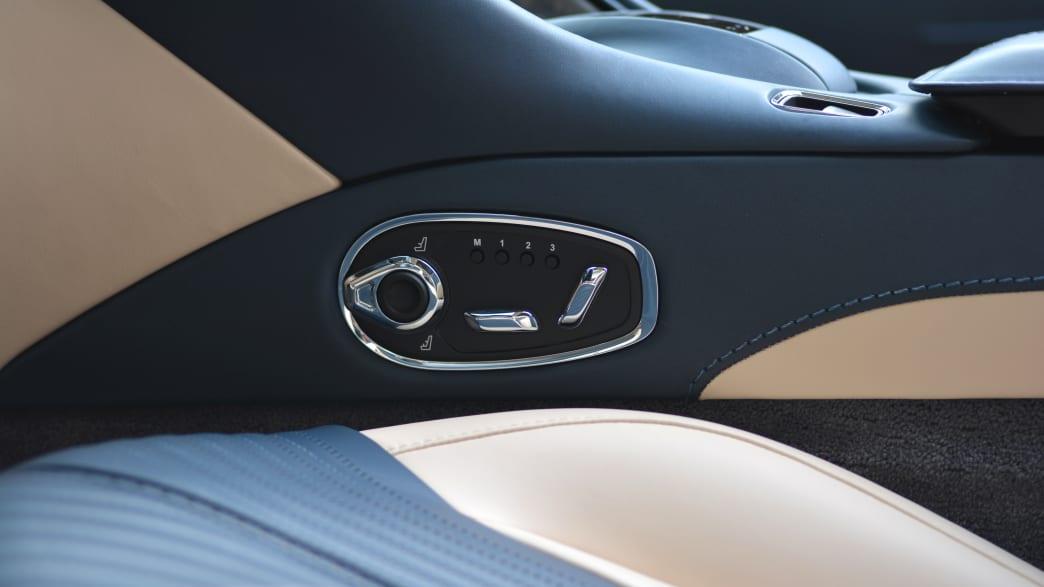 Schalter zur Sitzeinstellung Aston Martin DB11 Volante