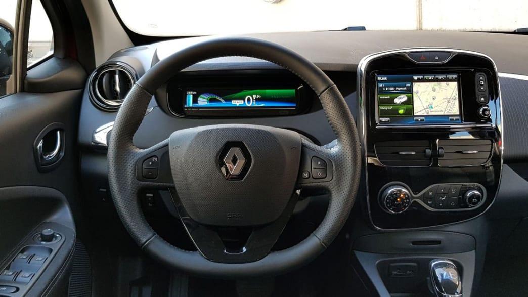 Das Cockpit des Dauertesters Renault Zoe