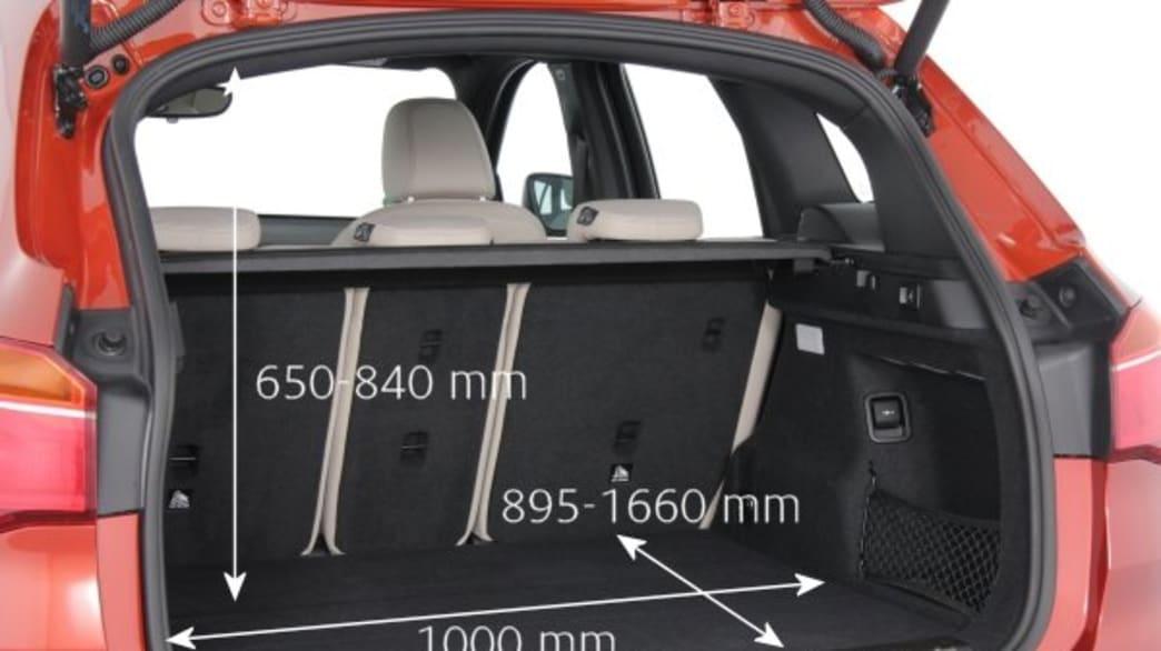 Kofferraum eines BMW X1