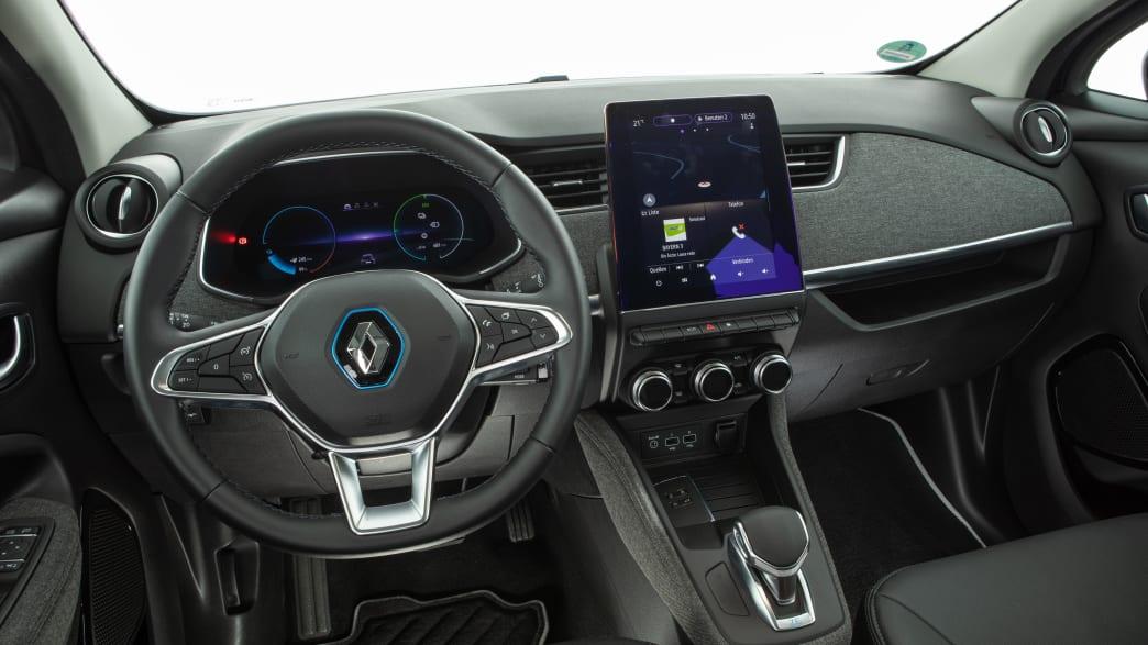Cockpit des Renault Zoe