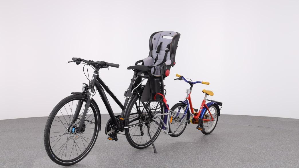Produktfoto Tandemsystem mit Kinderfahrrad