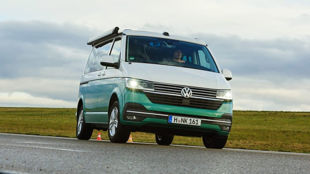 Der VW California Ocean T6.1 im ADAC Camper Test