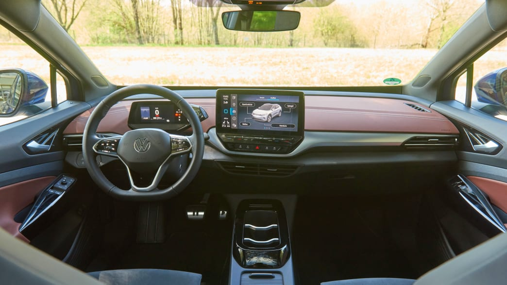 Cockpit des VW ID4