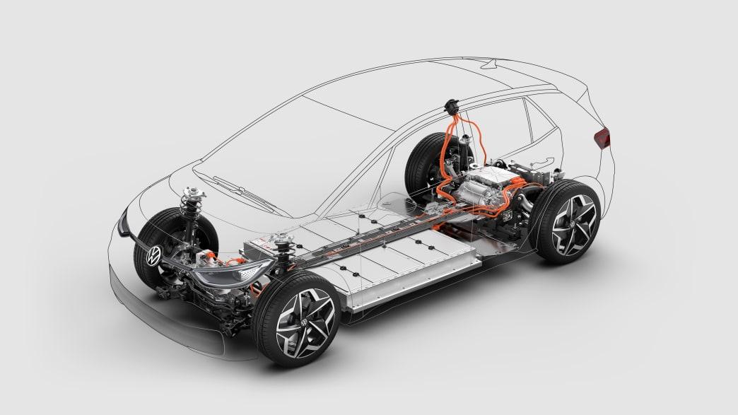 Aufbau des VW ID.3