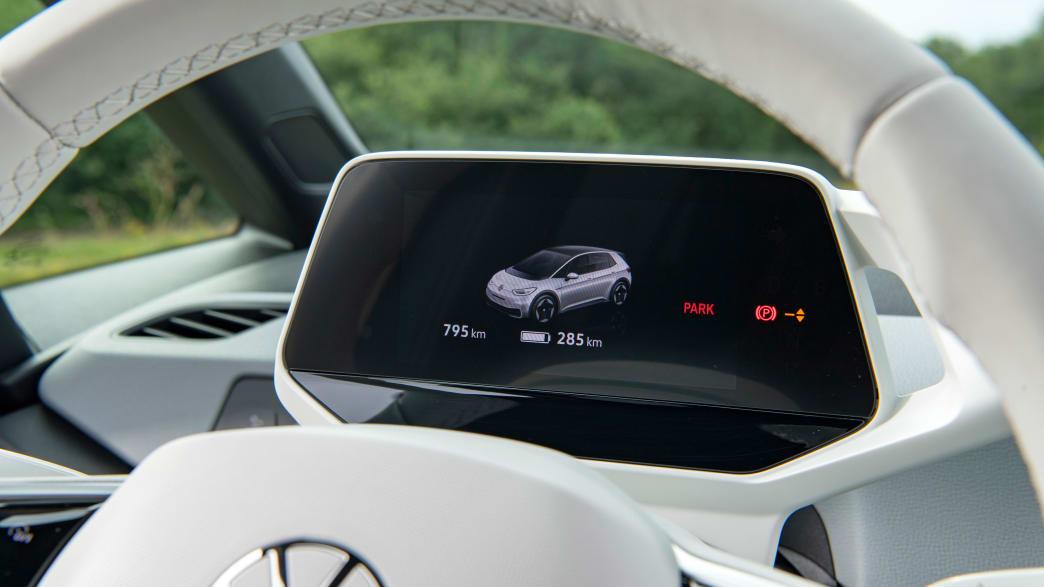 Display des VW ID.3