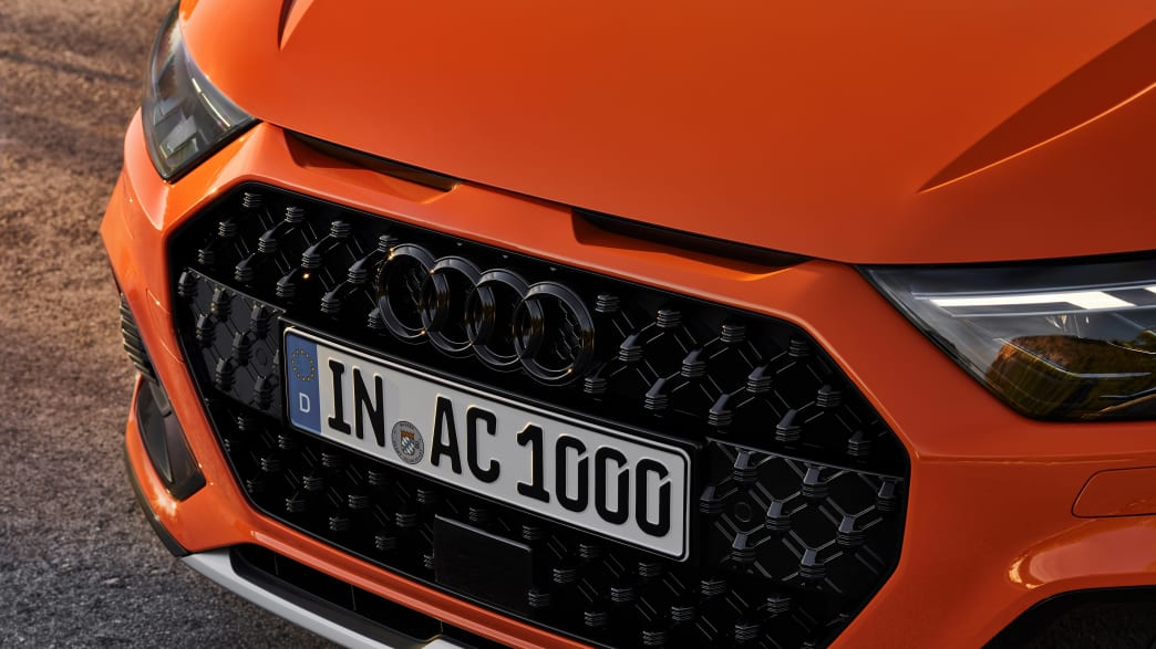 Audi A1 Citycarver close up Grill