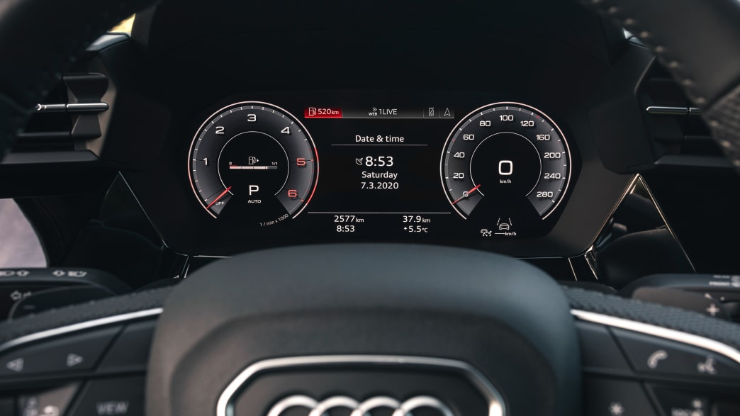 Display des Audi A3