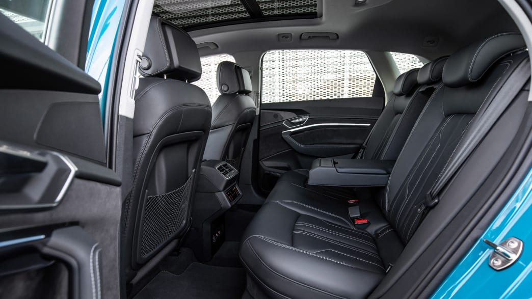 Audi e-tron Rückbank