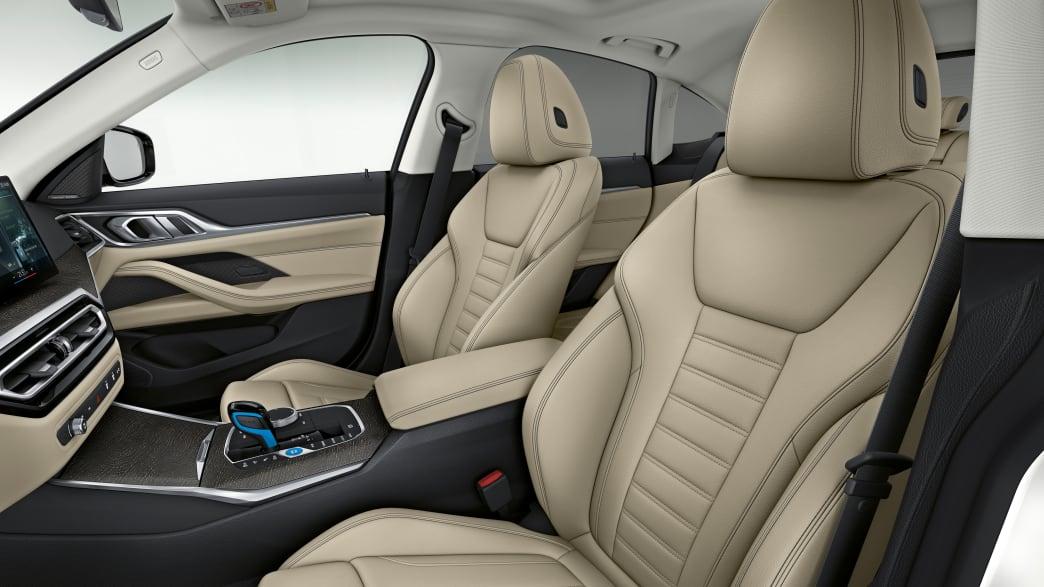Vordersitze des BMW i4