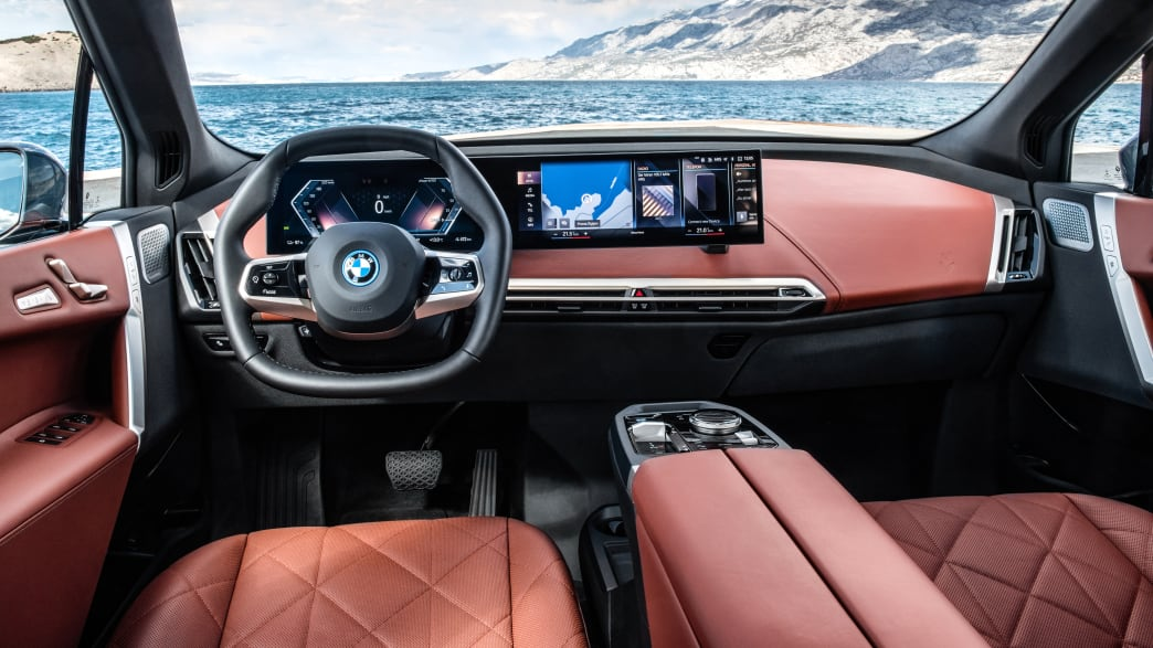 Cockpit des BMW iX