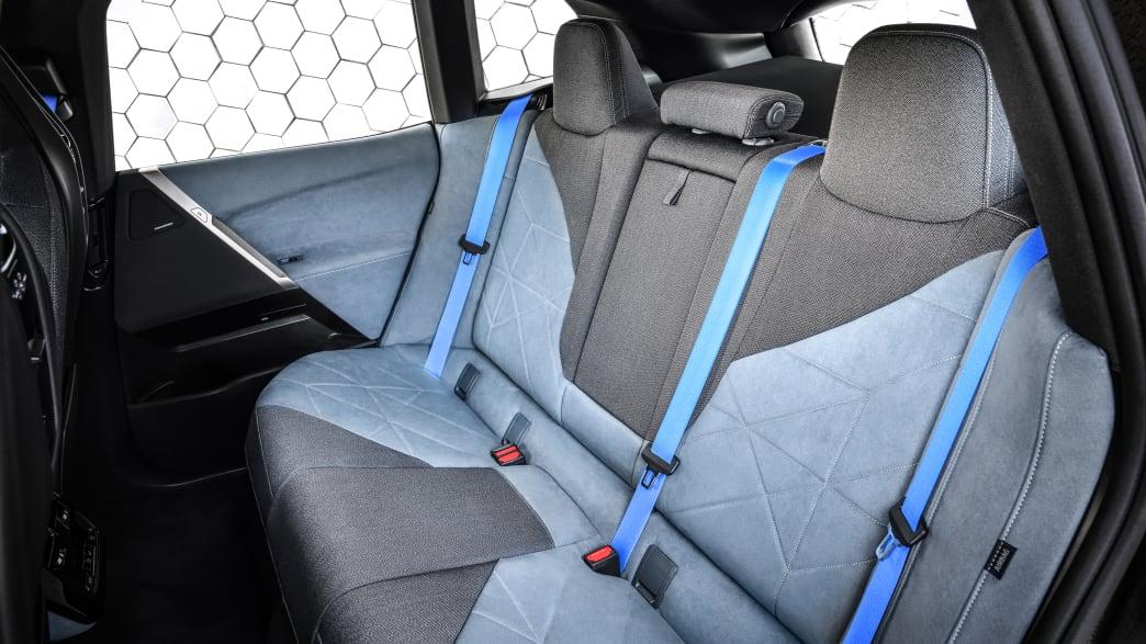 Rücksitze des BMW iX