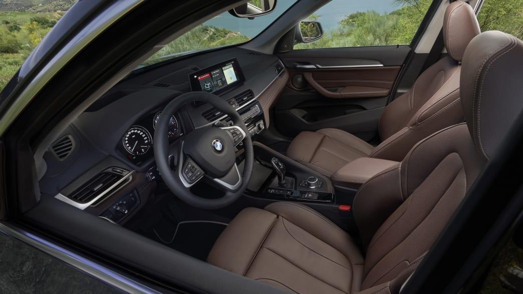 BMW X1 Vordersitze