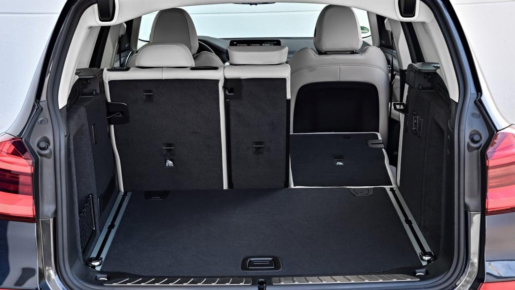 Kofferraum des BMW X3 Models von 2017