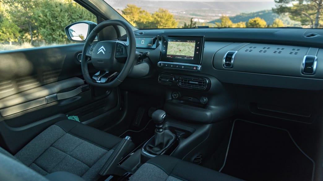 Cockpit des Citroen C4 Cactus