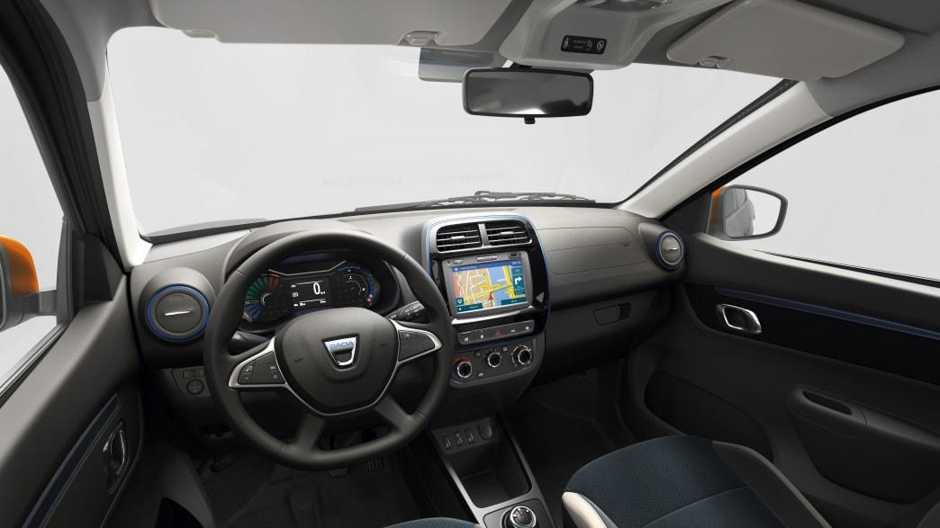 Cockpit des Dacia Spring Electric