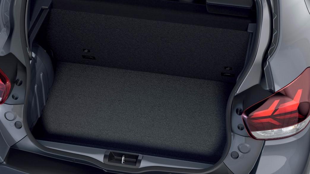Kofferraum des Dacia Spring Electric