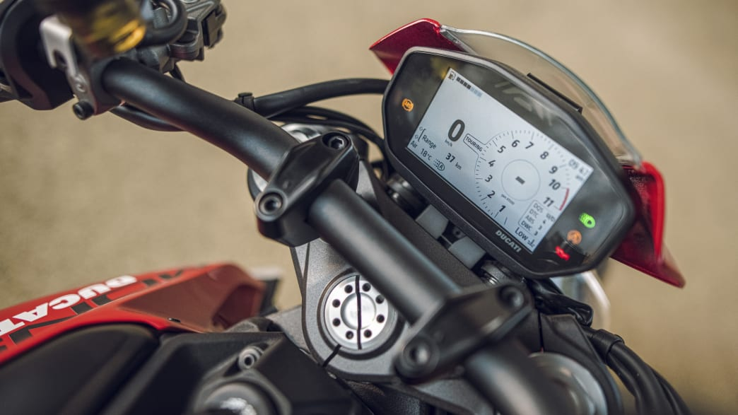 Display der Ducati Monster