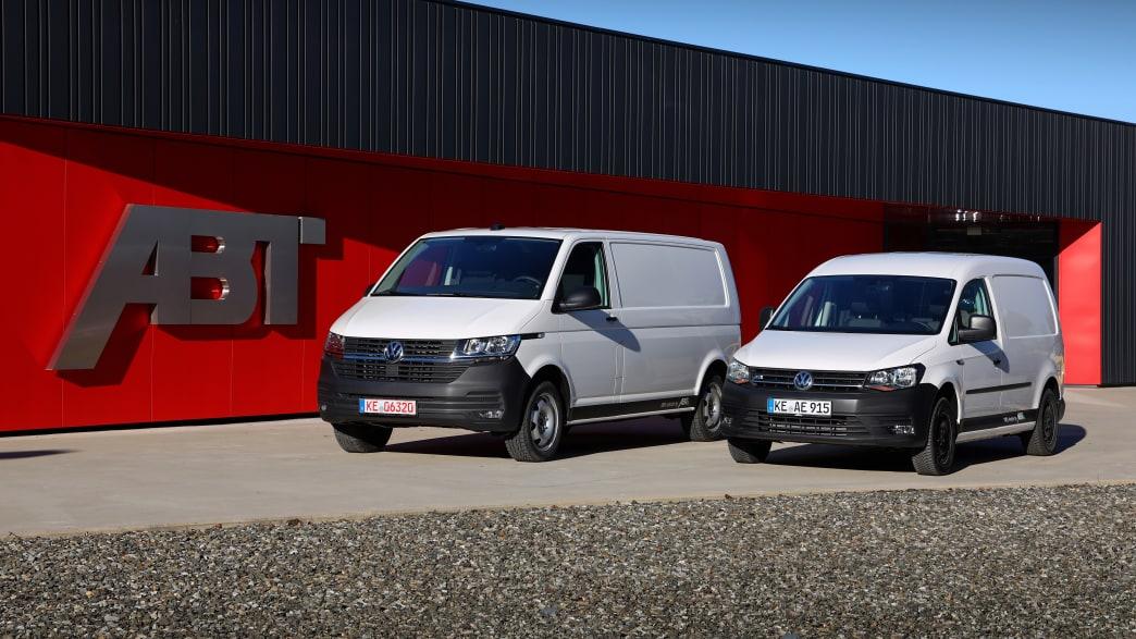 Der Elektro Transporter e-T6.1 von Abt