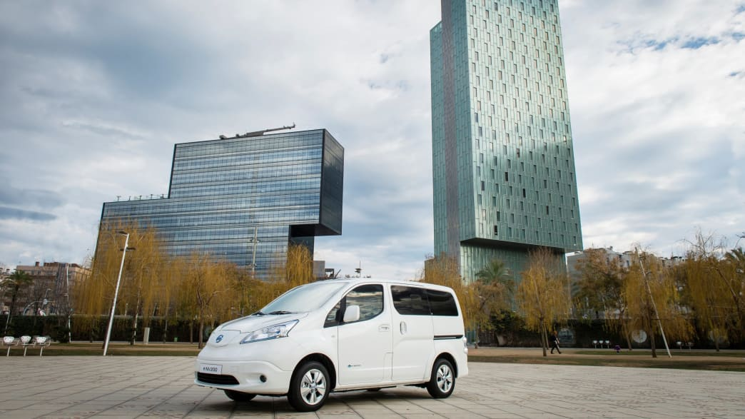 Der Elektrotransporter E-NV200 von Nissan