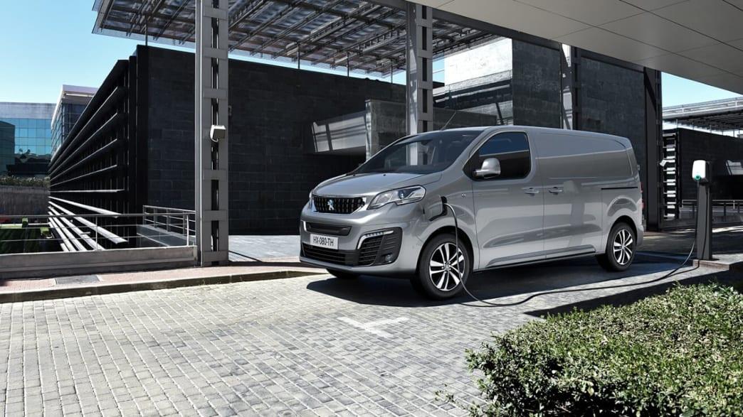 Der Peugeot E-Expert Elektrotransporter