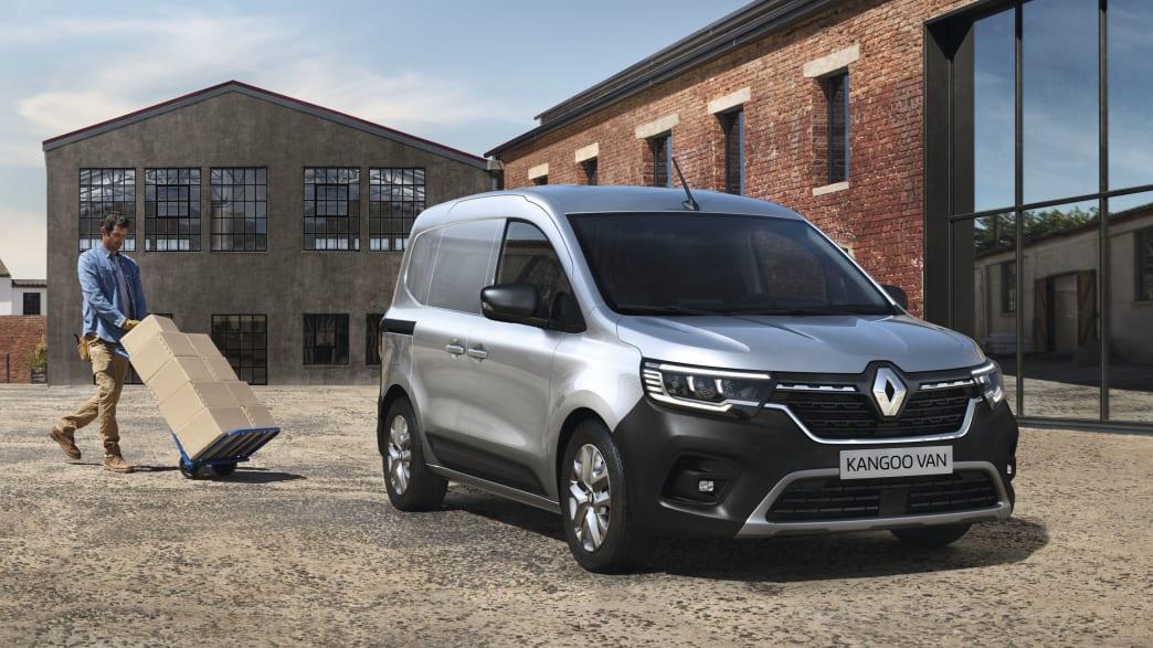 Der Elektrotransporter Kangoo  von Renault