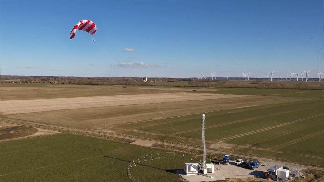 Der Jungfernflug des Drachenkraftwerks