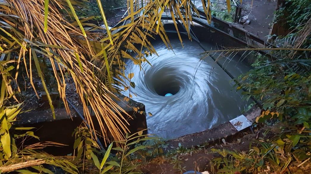 Projekt Turbulent in Bali zur alternativen Energiegewinnung durch Wasserkraft
