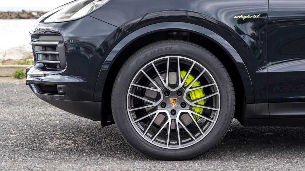 Bremsen am Porsche Cayenne E-Hybrid