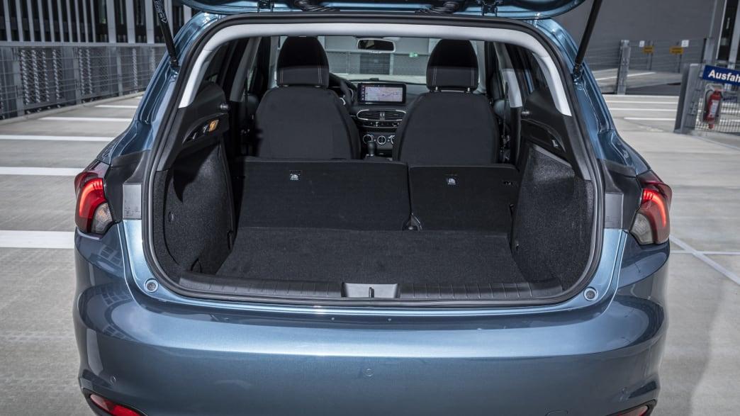 der Stauraum des Fiat Tipo Fünftürer