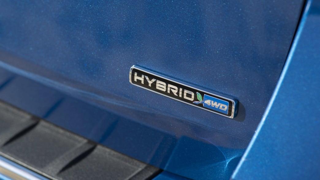Ford Explorer Hybrid Symbol
