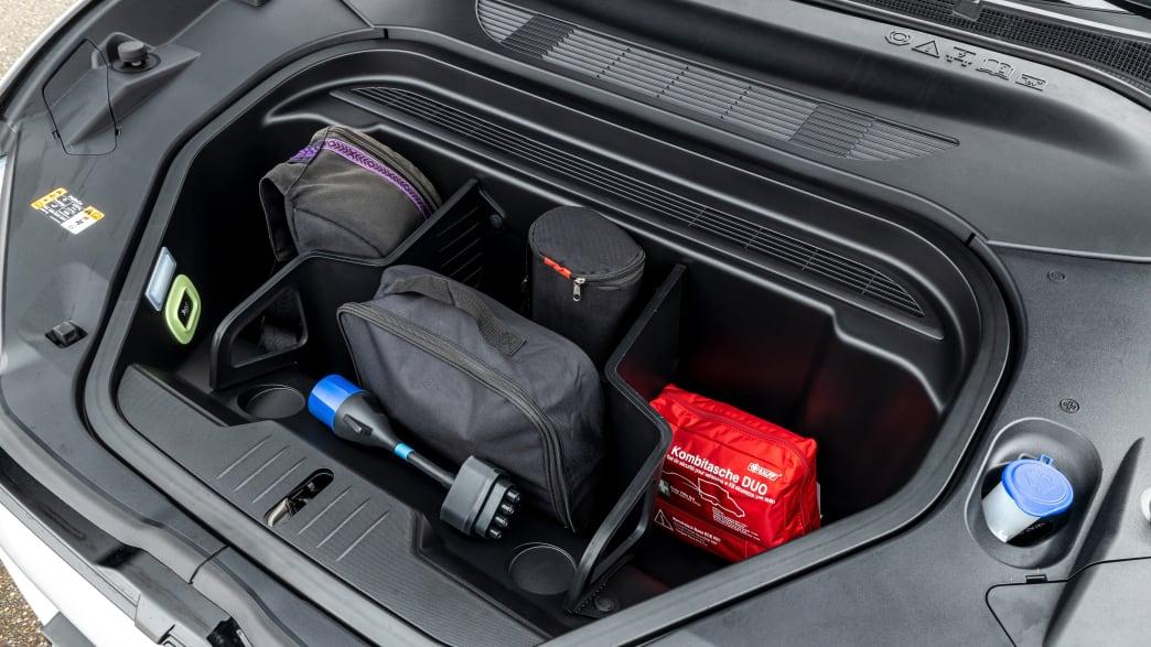 Frontkofferraum eines Ford Mustang Mach-E