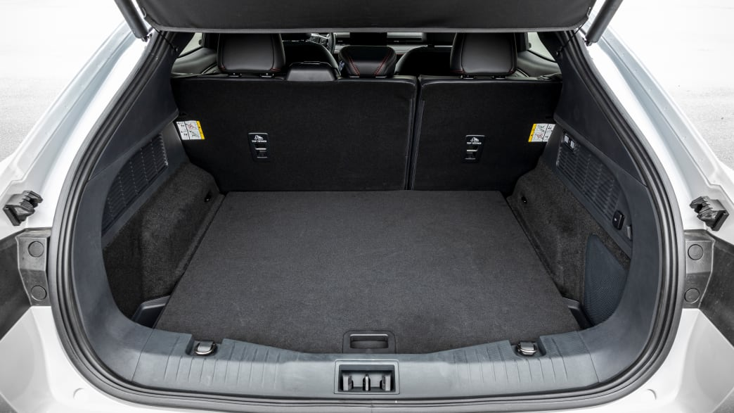 Kofferraum eines Ford Mustang Mach-E