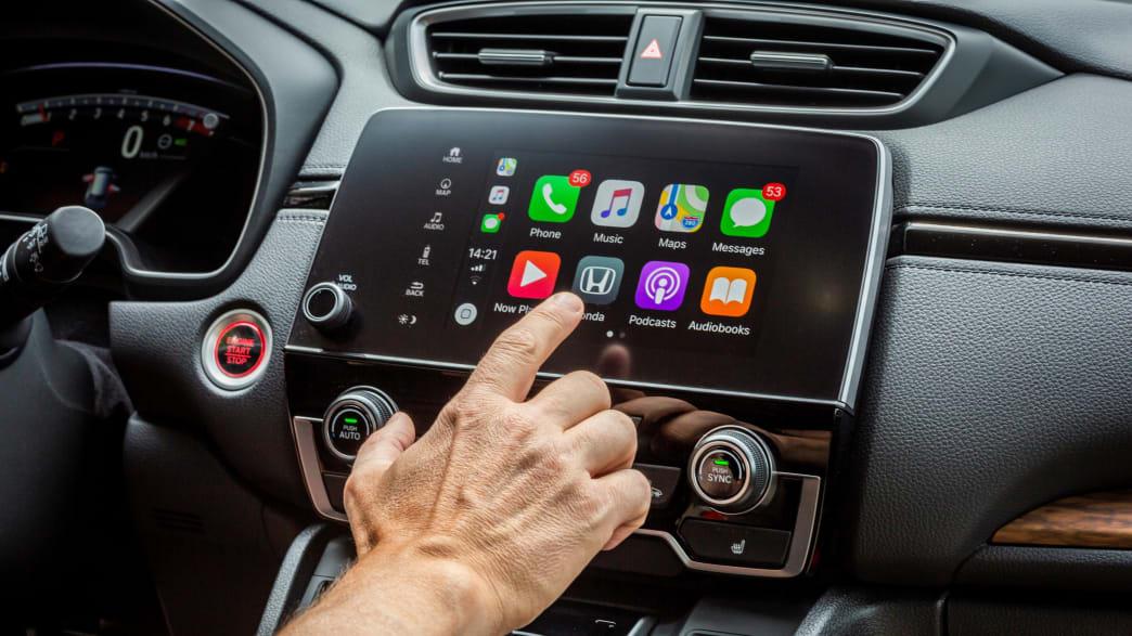 Display eines Honda CR-V 2019